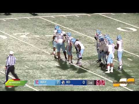 Wayne vs Bishop Dwenger | IHSAA Sectional Football