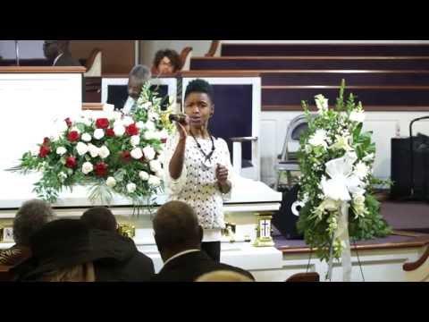 Funeral for the Amazing Georgia Mae Spann, 1910-2015