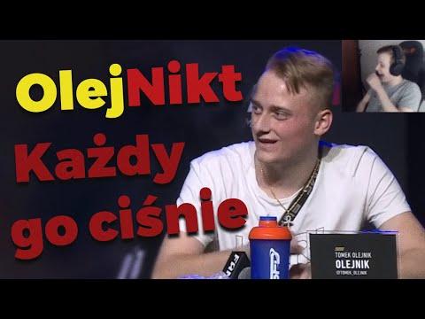 🔥😯 Nitro ogląda jak Tomek Olejnik jest deptany jak pet FAME MMA5 *dostał z liścia*
