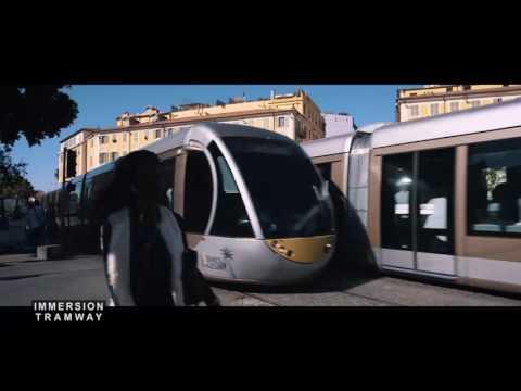 """Ligne Ouest-Est de tramway - Reportage Azur TV """"En immersion"""" - Octobre 2016"""
