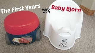 ❤ POTTY REVIEWS: The First Years vs Baby Bjorn ❤