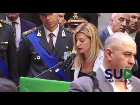 Le ricompense morali alla Festa della Guardia di Finanza a Napoli. 243esimo anniversario