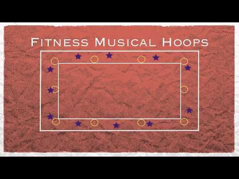 Physed Games - Fitness Musical Hoops