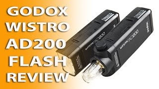 Godox AD200 Wistro / Flashpoint eVOLV 200 TTL Review. Is it a strobe or a flash?