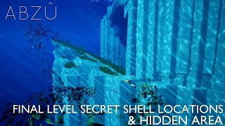Abzu - All 3 Final Level Hidden Shells & Secret Area For Hidden Achievement / Trophy