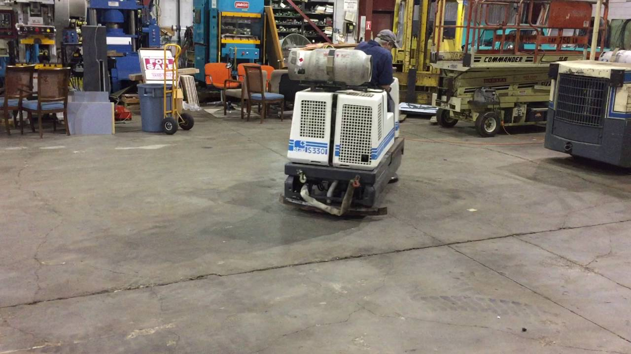Used Industrial Riding Floor Scrubber For Sale Hydrodyne YouTube - Used riding floor scrubber for sale