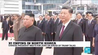 "First Day of China-North Korea meeting: China ""praises"" North Korean stability"