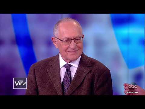 Alan Dershowitz on Epstein Case and Current Lawsuit | The View