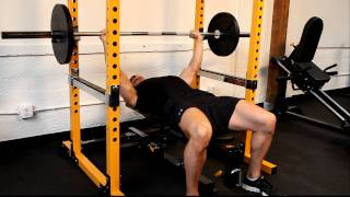 Bench Press Safely With The Powertec Power Rack (with Ian Lauer)