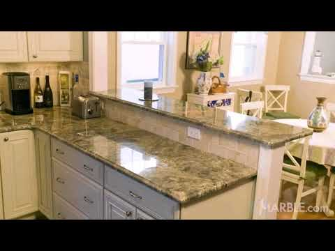 Kitchen Design With Breakfast Counter - Gif Maker  DaddyGif.com (see description)