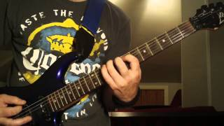 Megadeth The Disintegrators Guitar Lesson