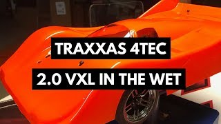 Traxxas 4-Tec 2.0 VXL New Speed Run Body Testing In The Wet!