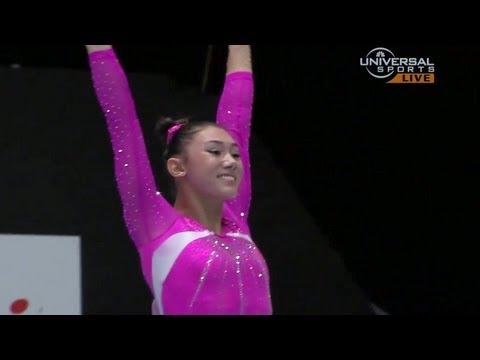Kyla Ross 2nd in 2013 Championship - Universal Sports