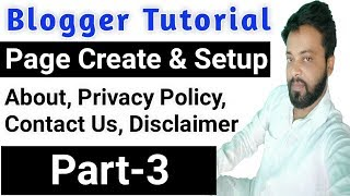 [ Full Tutorial ] How To Create About,Privacy Policy,Disclaimer And Contact US Page On Your Website Mp3