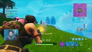 Frenezy tros a hacker during the Fortnite stream di
