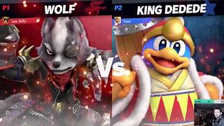 Elite Smash with Wolf #1 [FLAWLESS] - Super Smash Bros. Ultimate