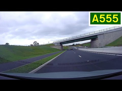 A555 Manchester Airport Relief Road - Eastbound - Opening Day