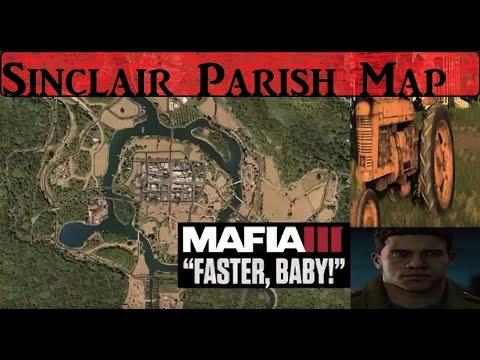 Mafia 3 Sinclair Parish Map Revealed Driveable Tractors Youtube