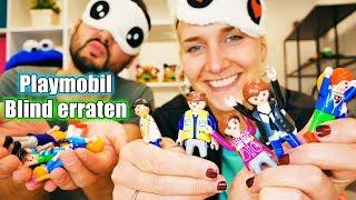 FAMILIE VOGEL CHARAKTERE BLIND ERRATEN Challenge! Kaan VS Nina Playmobil Figuren erfühlen (Augen ZU)