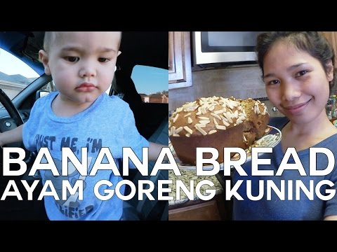 NEW BANANA BREAD | MASAK IKAN ENAK | SECURITY RUMAH VLOG