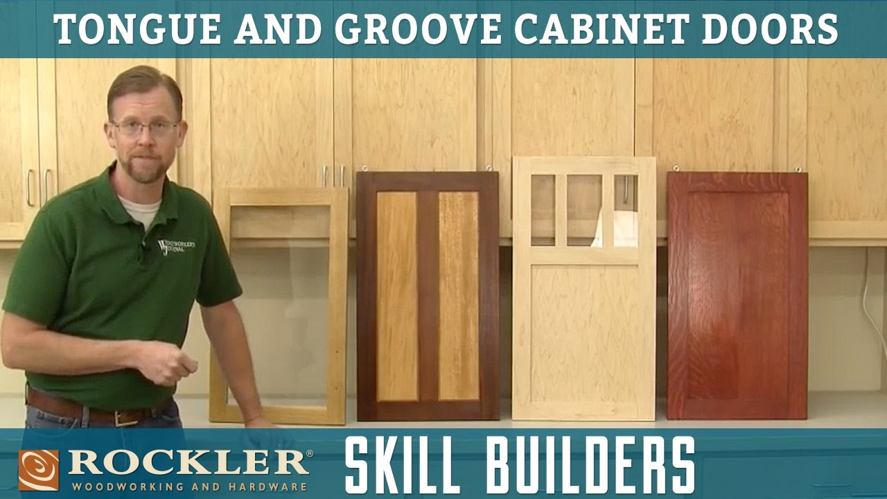 Intro To Tongue And Groove Cabinet Doors Rockler Skill Builders Youtube