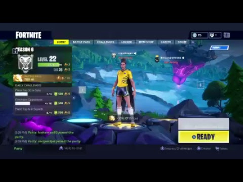 Fortnite Can't Join Party 's