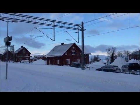 Narvik to Boden Train: Arctic train; Europe by train; Train documentary; Great Railway Journeys