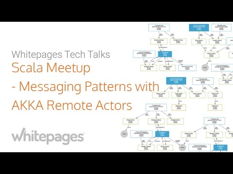 Scala Meetup at Whitepages: Messaging Patterns with Akka Remote Actors