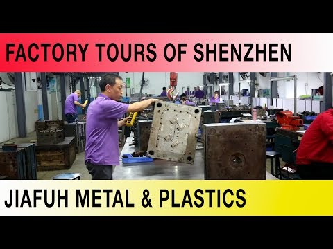 The Factory Tours of Shenzhen - Jiafuh Metal & Plastics