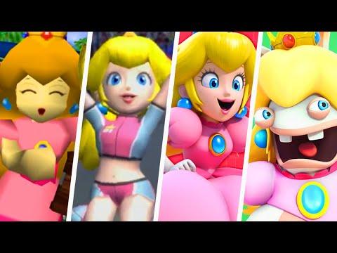 Evolution of Happy Princess Peach Moments (1992 - 2021) |