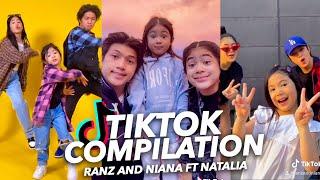 Siblings TikTok DANCE Compilation (Latest)  Ranz and Niana ft natalia
