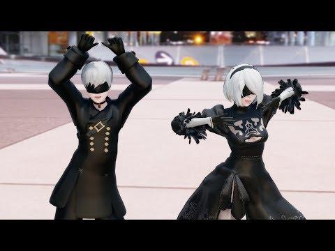【MMD】恋ダンス Koi Dance【NieR:Automata】2B 9S [4K UHD]