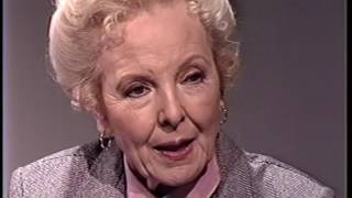 """Anna Lee--1987 TV Interview, John Ford, """"General Hospital,"""" """"Baby Jane"""""""