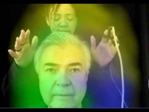 Reiki test video-skip to 2 min. to see the shifting-Aura & energy fields?