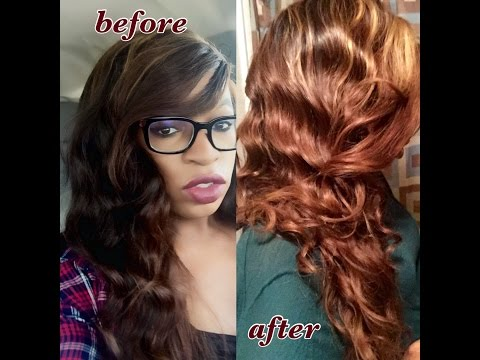 Lightening Hair Extensions With Only Using 30 Volume Developer (No Bleach Needed)
