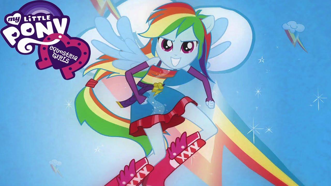 My Little Pony Equestria Girl Rainbow Rocks Rainbow Dash ...
