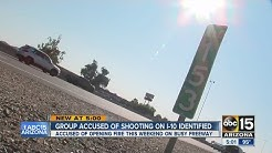 Mugshots released in connection to freeway shootings along I-10 over weekend