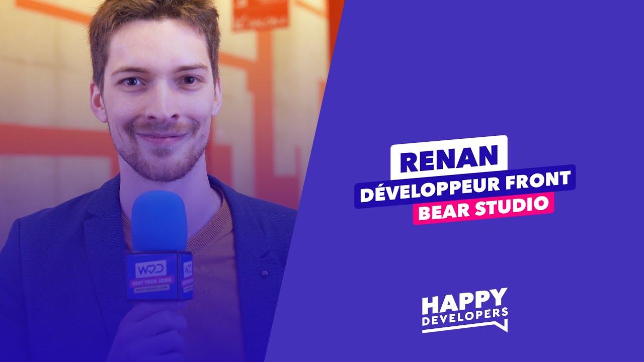 Happy Developers - Codeurs en Seine - Renan de Bear Studio