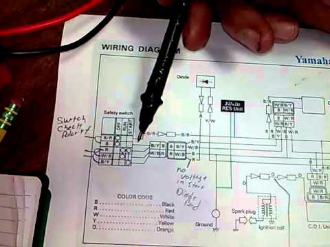 Pw50 wire diagram volt ohms electric  YouTube