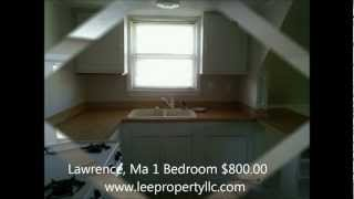 Lawrence, Ma 01843 1 Bedroom available for rent Reduced to $750 with signed lease