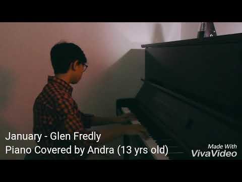 Januari - Glen Fredly (Piano cover by Andra)
