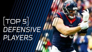 Top 5 Defensive Players in the NFL (2016)