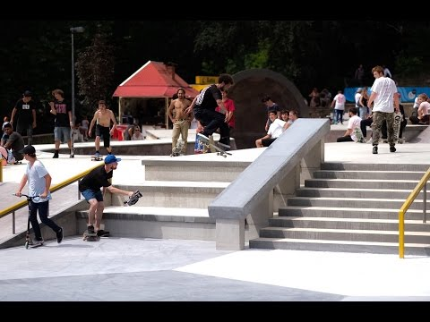 Luxemburg Skatepark Opening (Axel Cruysberghs, Jelle Maatman, Jair Gravenbergh)