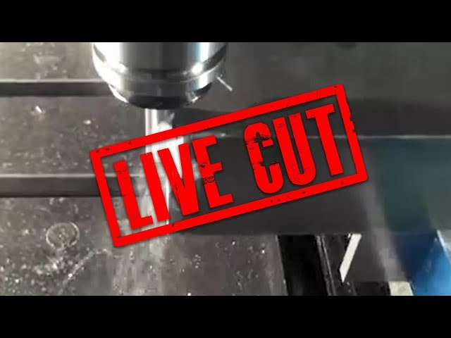 iMachining using a Iscar Chatter Free 10mm end-mill
