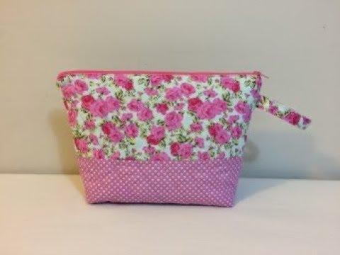 Diy Makeup Bag Cosmetic Bag Coudre Un Sac Bolsa De Bricolaje 가방 バッグ Tutorial