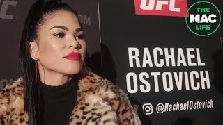 Rachel Ostovich talks meeting Greg Hardy, and having a platform to inspire | UFC On ESPN+1 Media Day