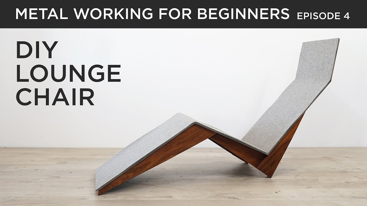 envelope pillow tutorial diy inspired.htm diy modern lounge chair metalworking for beginners ep4 youtube  diy modern lounge chair metalworking