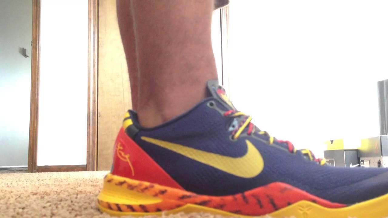 fed5bb130e6 Kobe 8 Barcelona (On Feet)   (Review) (HD) - YouTube