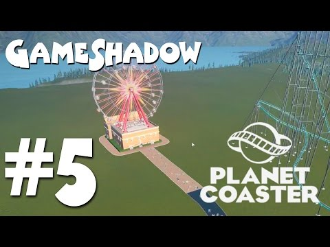 "GameShadow | ""Planet Coaster"" – Building the Ferris Wheel"
