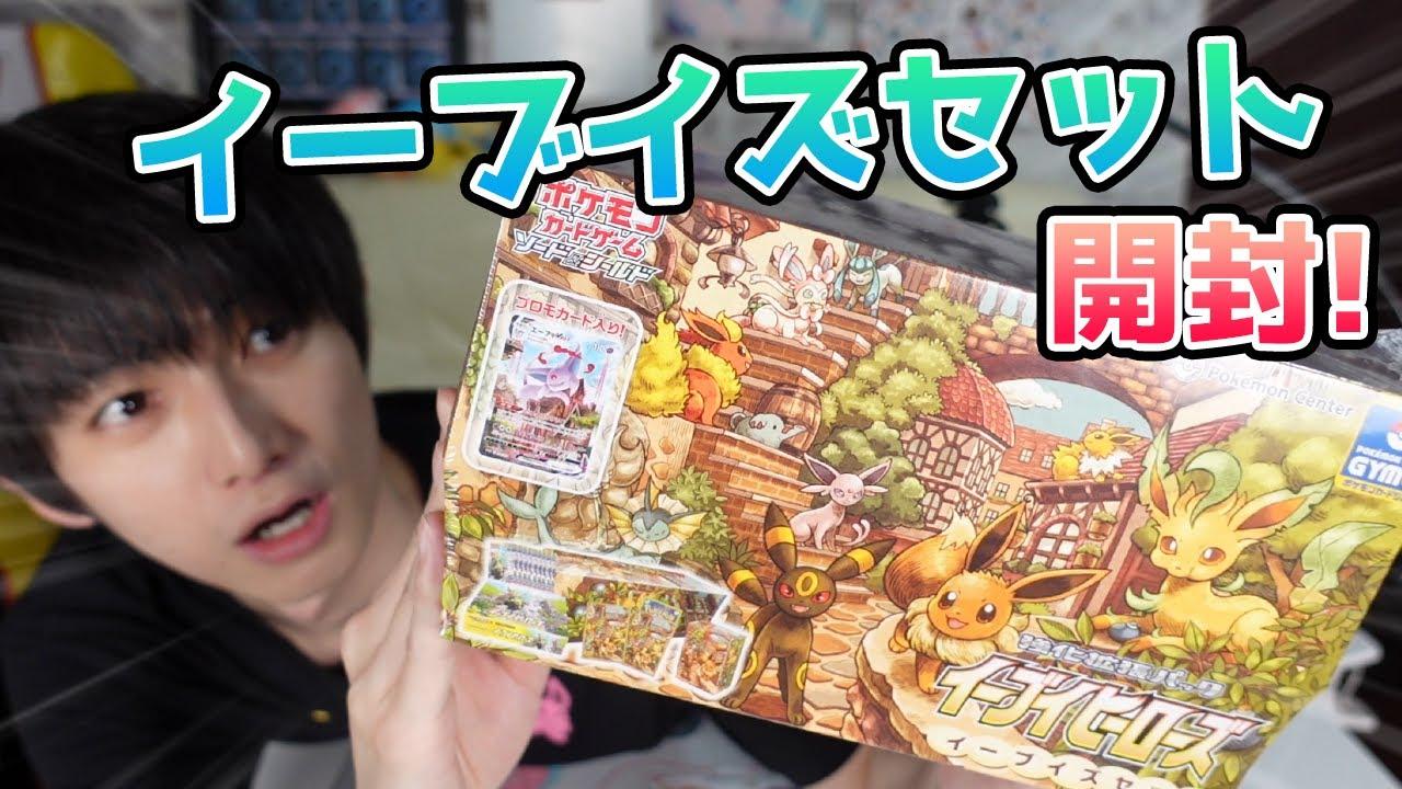 【ポケカ】ブイズ好きによるイーブイズセット開封!【本郷奏多の日常】